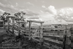 Cattle yard, Woodenbong NSW