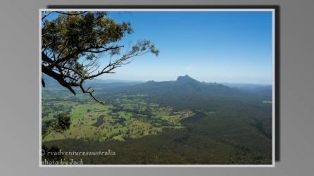 Mt Warning. Border Ranges NP