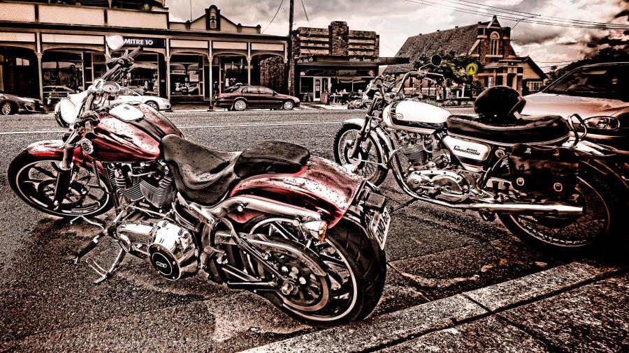 Street scene Dungog NSW Australia