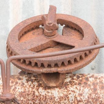Industrial sculpture