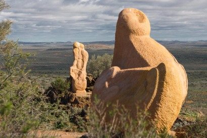 Broken Hill-Sculptures in the desert