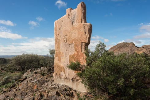 Broken Hill-Sculptures in the desert